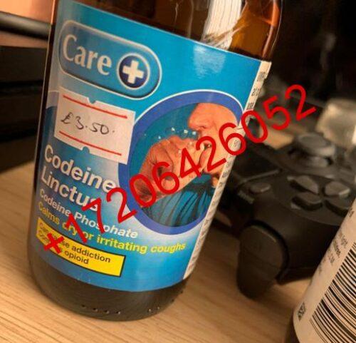 Codeine linctus care+